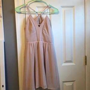 Simple pink dress